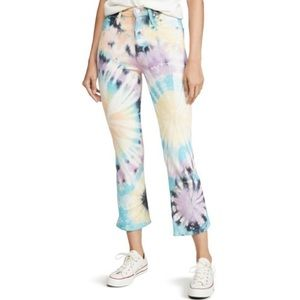 Mother Superior   Tie Dye Tripper Jeans New